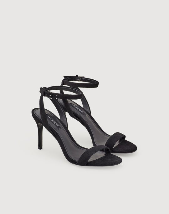 Suede Jewelle Stiletto