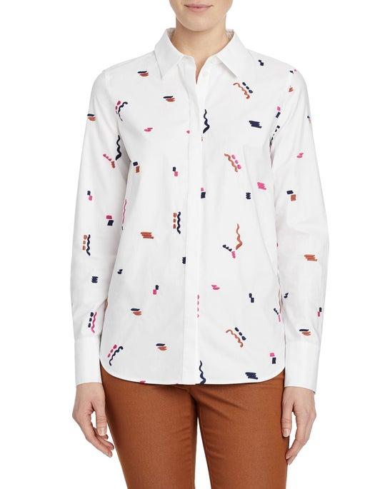 Utility Cotton Poplin Scottie Shirt