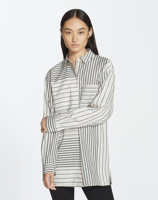 Transcendent Stripe Maston Blouse