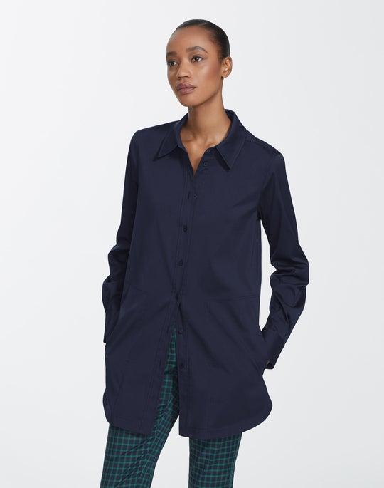 Italian Stretch Cotton Michelle Shirt