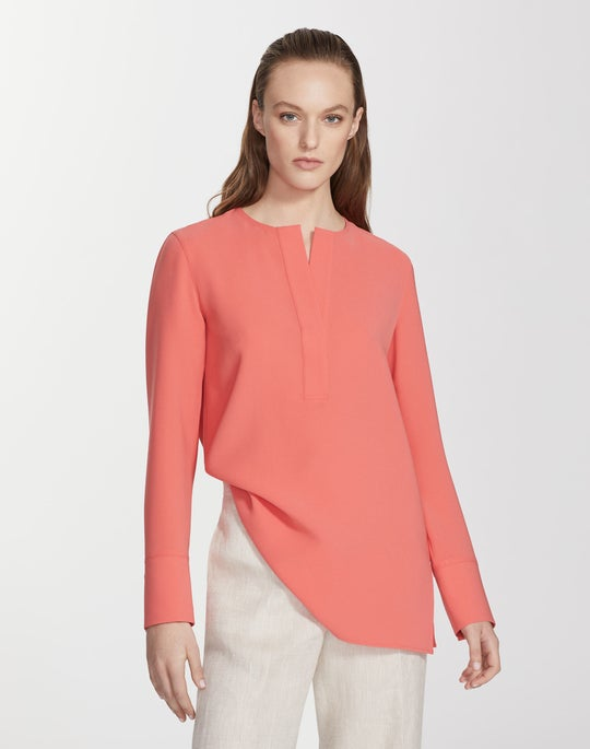 Finesse Crepe Hayley Blouse