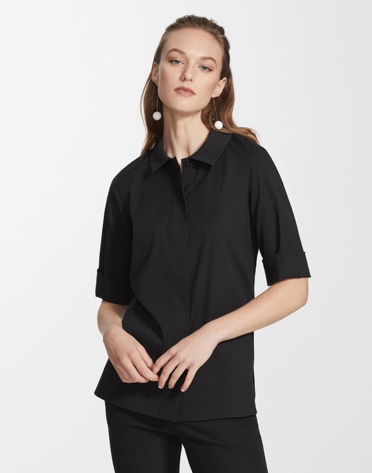 Italian Stretch Cotton Farrell Shirt