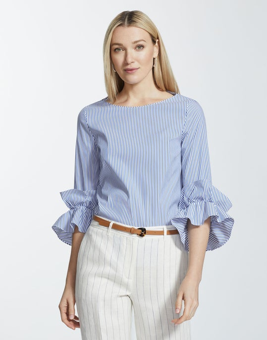 St. Eves Stripe Whitby Blouse