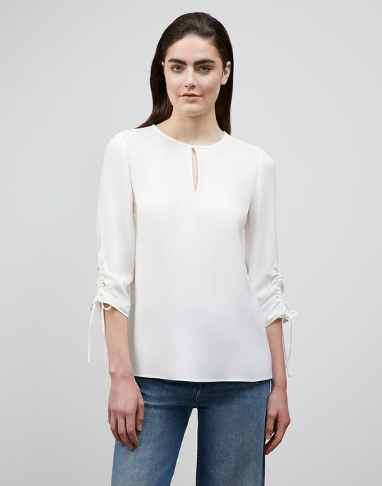 Silk Double Georgette Jacoby Blouse