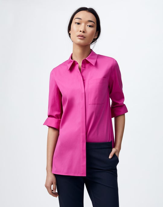 Italian Stretch Cotton Ruxton Shirt