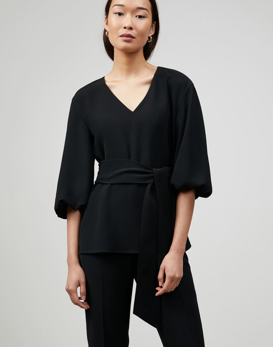 Finesse Crepe Astley Blouse