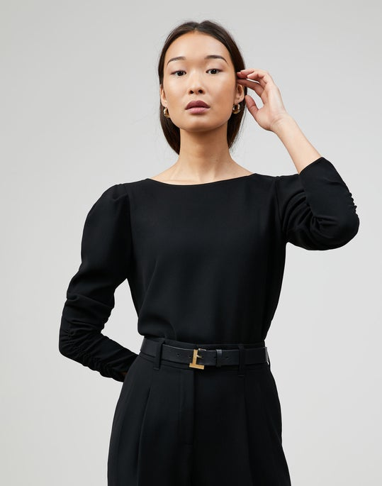 Finesse Crepe Romilly Blouse
