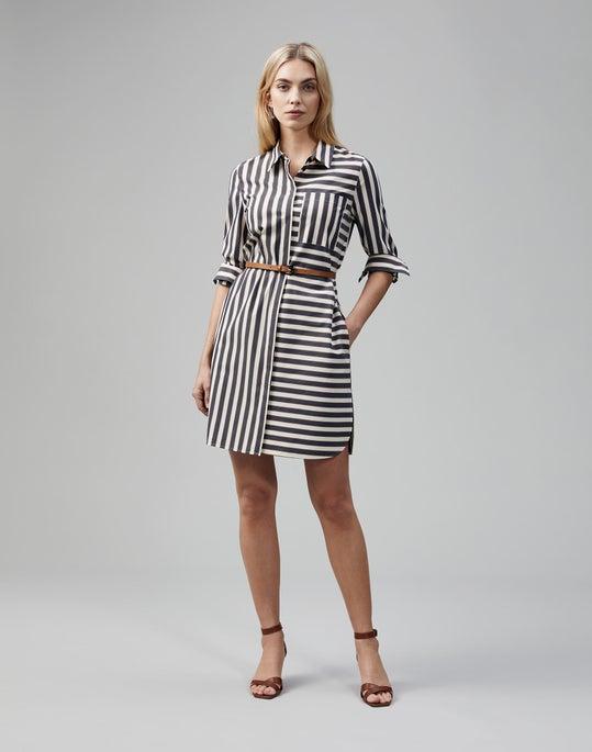 Seaside Cotton Stripe Isra Duster Dress