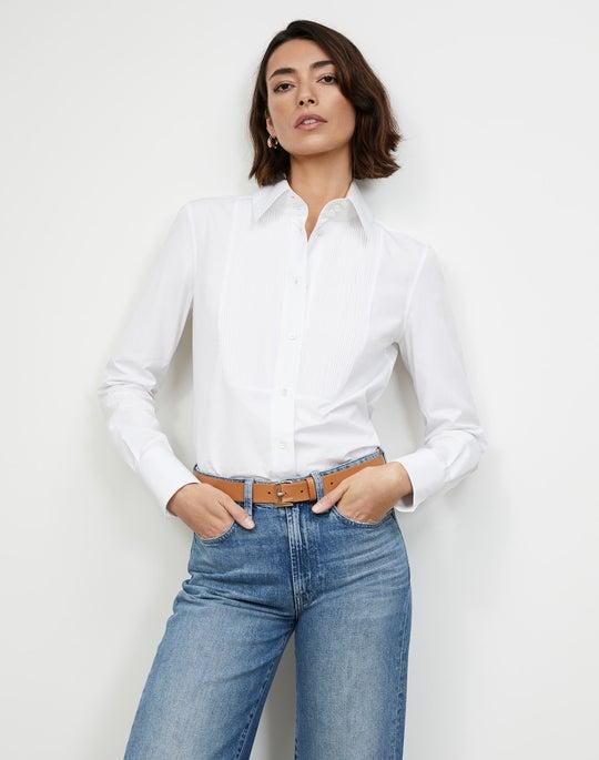 Italian Sculpted Cotton Holtz Shirt