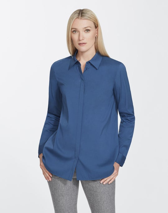 Italian Stretch Cotton Brody Shirt