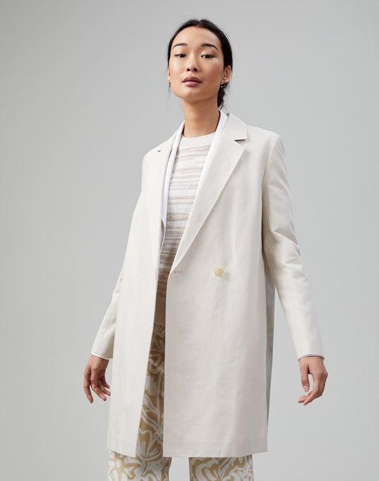 Italian Canvas Cloth Emmalyse Coat