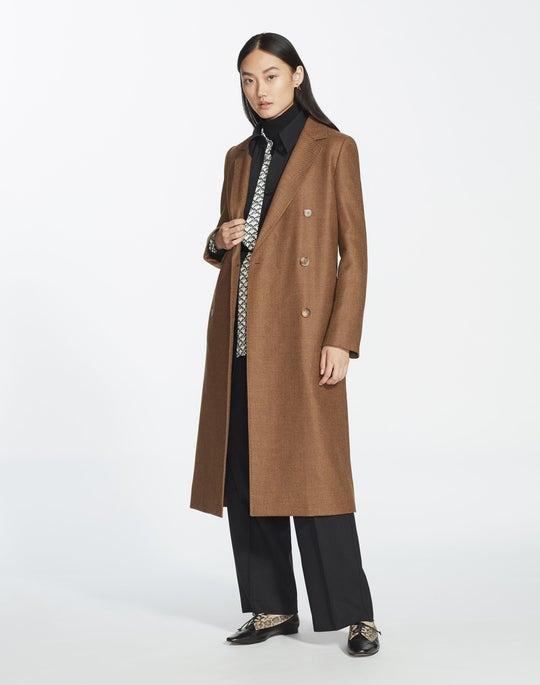 Euphoric Mélange Cloth Emmalyse Coat