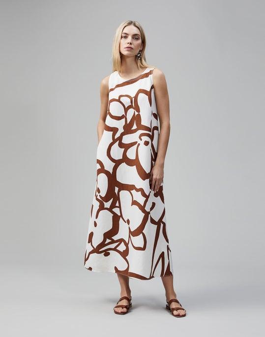 Linear Hydrangea Print Ross Dress