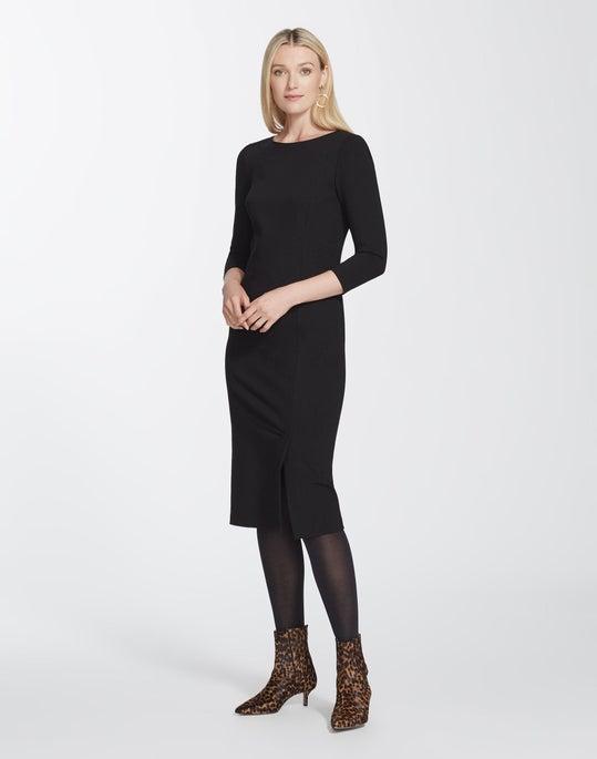 Italian Punto Milano Aldrich Dress
