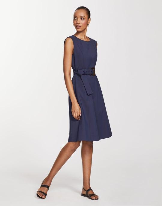 Plus-Size Fundamental Bi-Stretch Leslie Dress