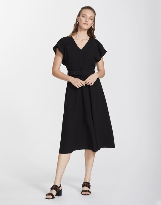 Finesse Crepe Kline Dress