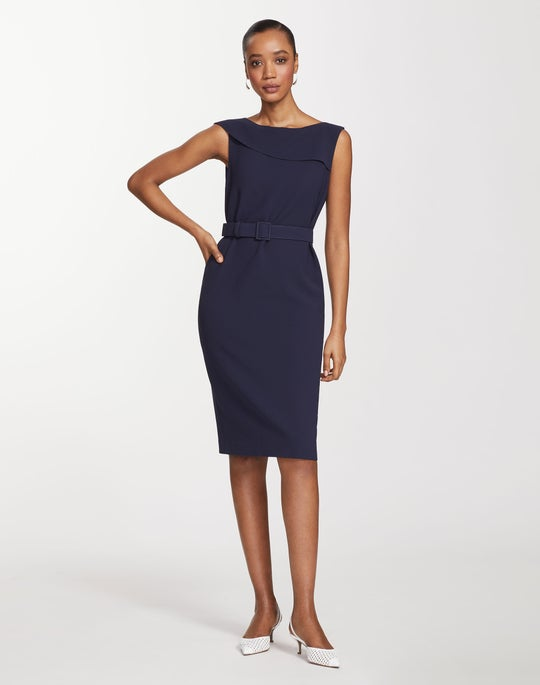 Finesse Crepe Smith Dress