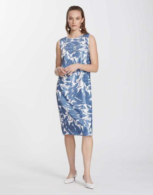 Floral Sequin Noah Dress
