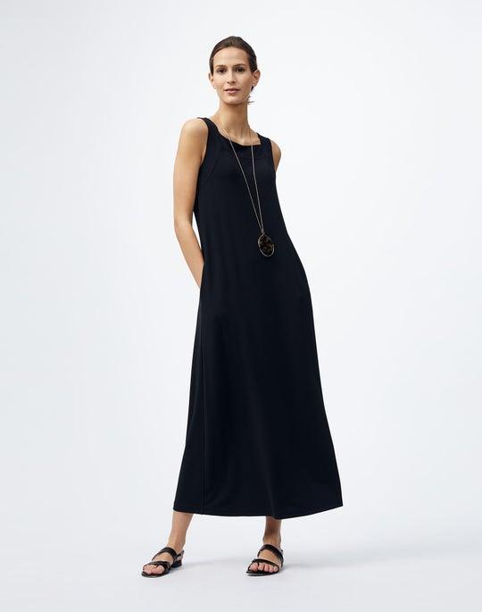 Plus-Size Midweight Matte Jersey Reder Dress