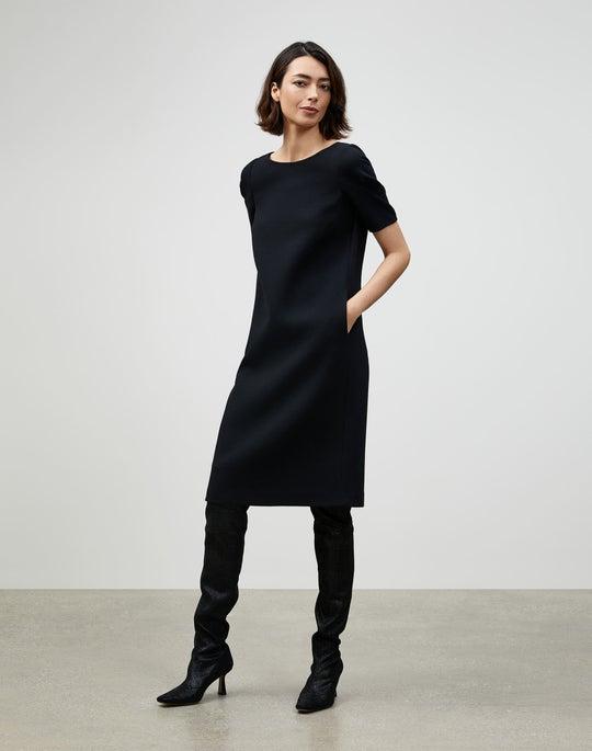KindWool Nouveau Crepe Milena Shift Dress