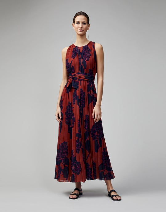 Mini Hydrangea Print Pietra Dress