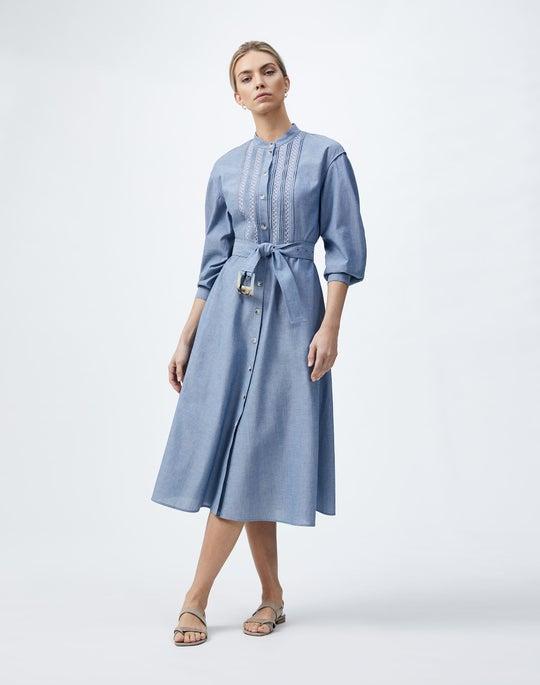 Artisan Chambray Yael Dress