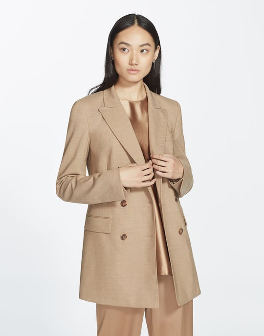 Plus-Size High Line Suiting Slade Jacket
