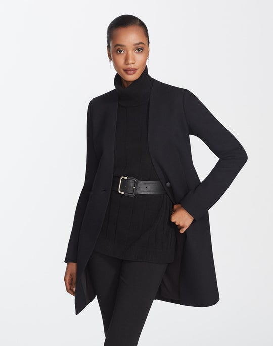 Petite Nouveau Crepe Maren Jacket