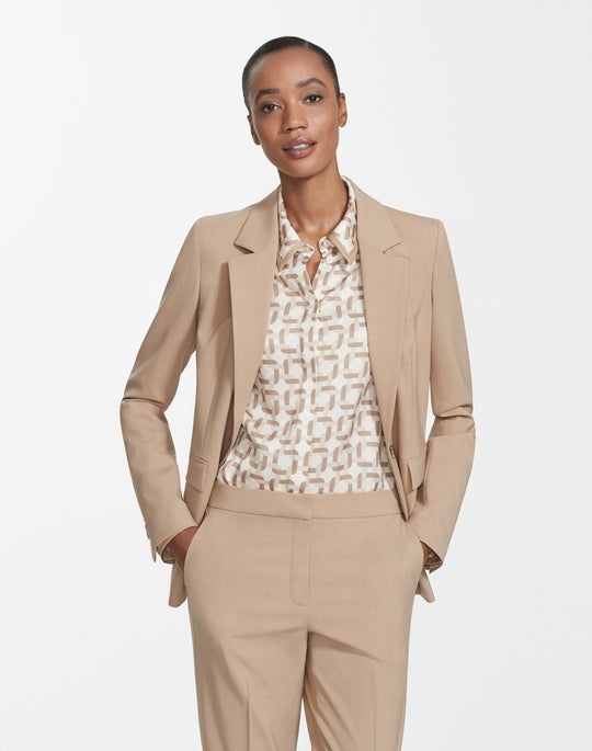 Italian Stretch Wool Trixie Jacket