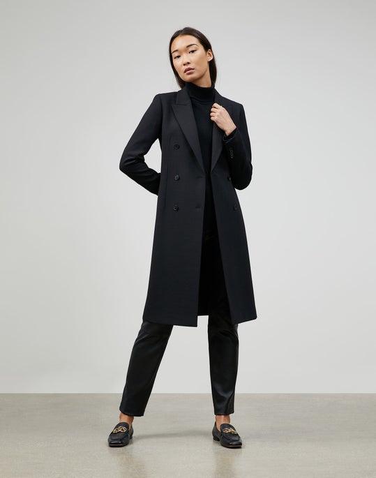 Luxe Italian Double Face Marcks Jacket