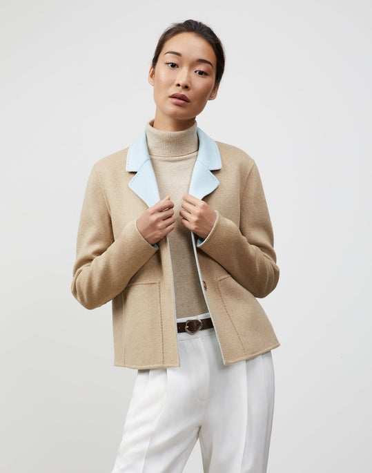 Two-Tone Double Face Reversible Andover Jacket