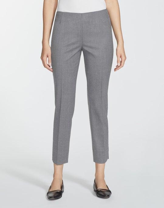 Petite Italian Stretch Wool Stanton Pant
