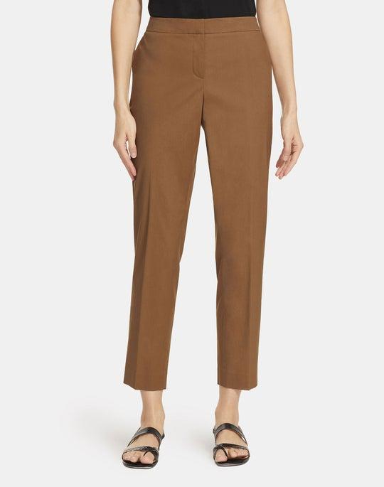 Classic Stretch Cotton Manhattan Slim Pant