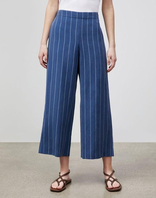 Stately Stripe Riverside Ankle Pant
