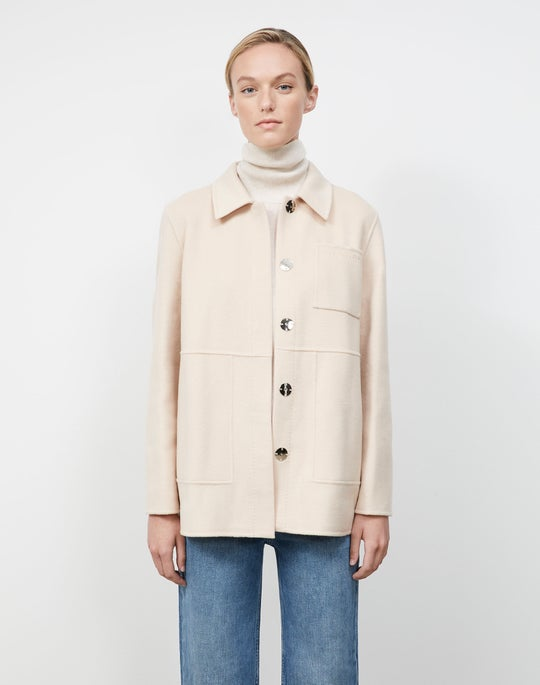 Two-Tone Double Face Pascal Reversible Jacket