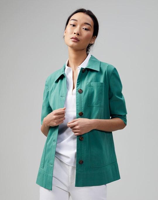 Italian Pima Cotton Bi-Stretch Pascal Jacket