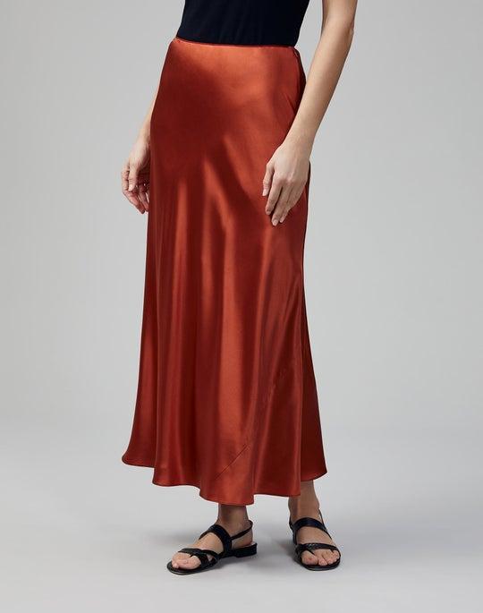 Luxe Charmeuse Guthrie Skirt