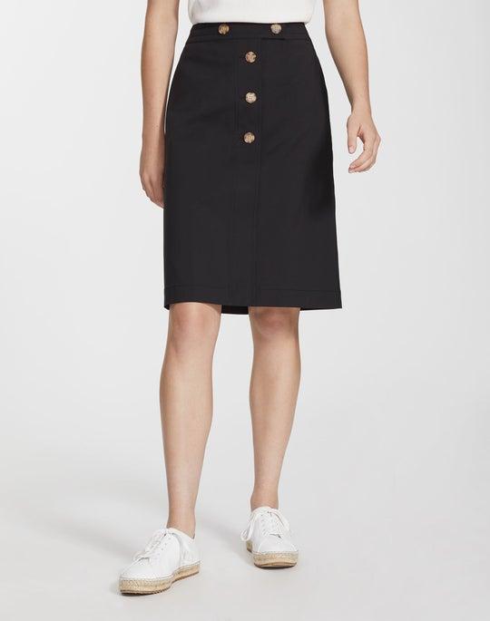 Fundamental Bi-Stretch Taya Skirt