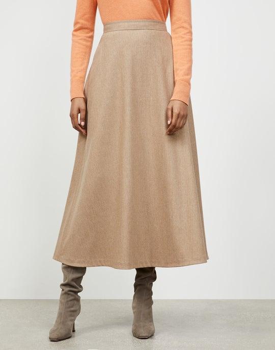 Finite Italian Flannel Sumner Skirt