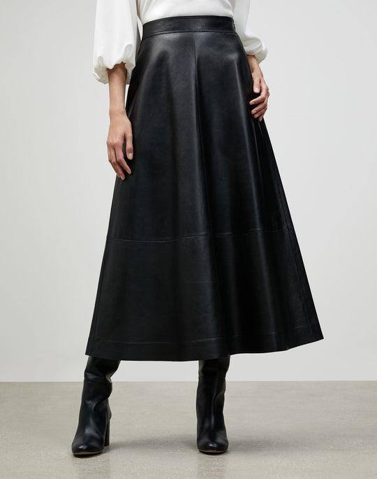 Italian Plonge Lambskin Sumner Skirt
