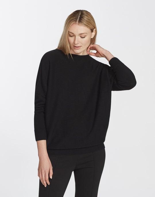 Petite Cashmere Bateau Neck Sweater
