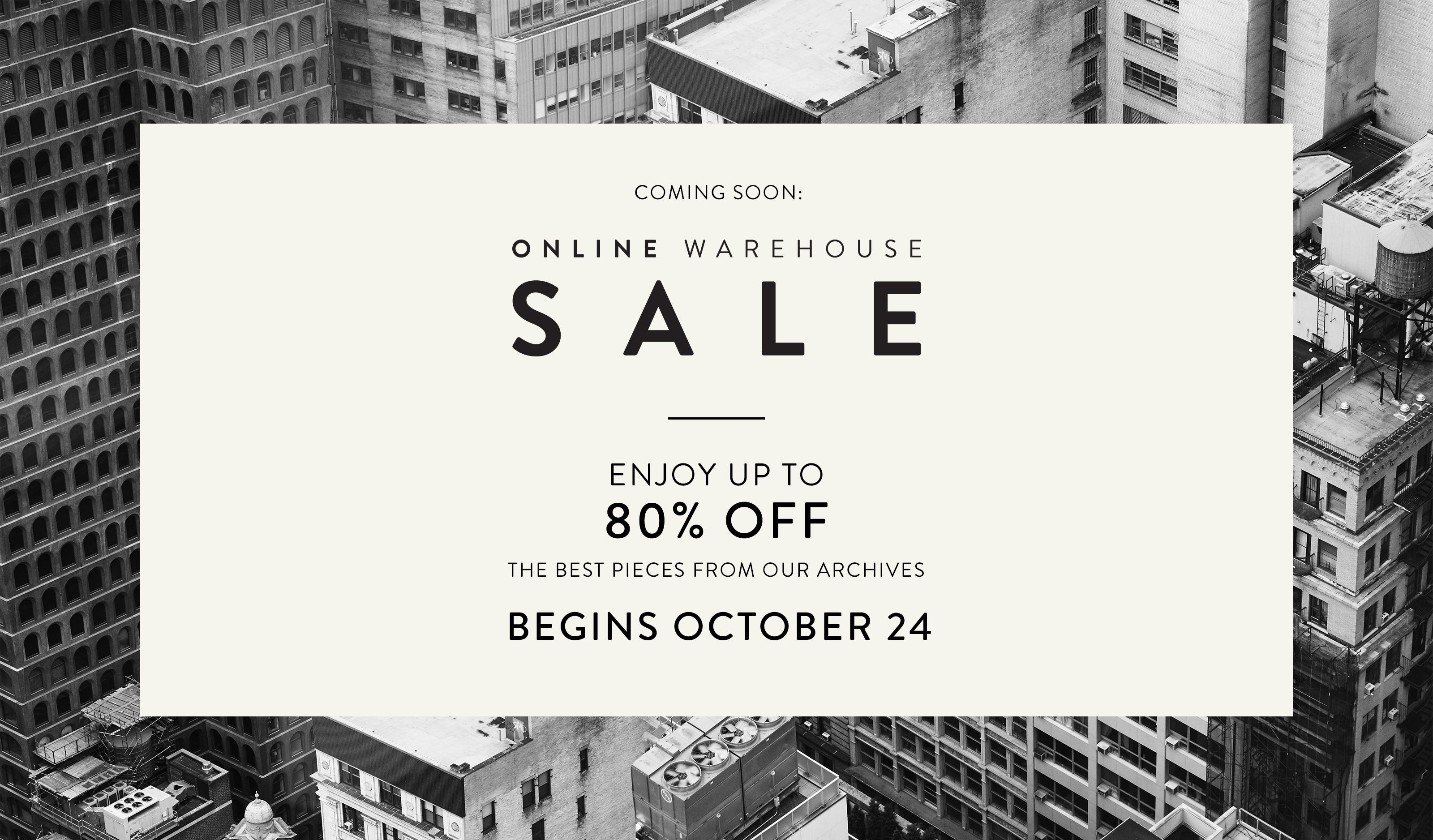 Lafayette 148 New York Sample Sale 2020